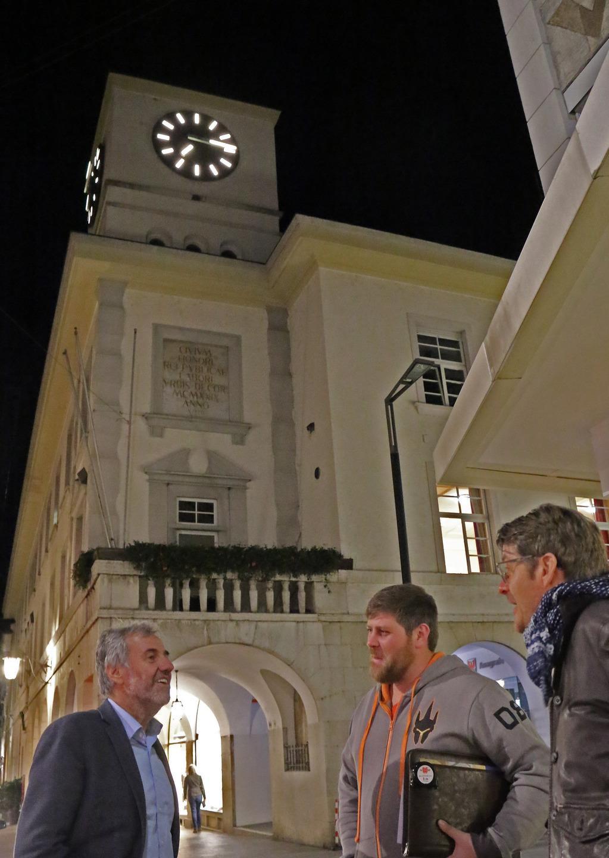 Orologio da polso uomo sportivo cronometro illuminazione led