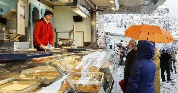 Merano il mercato settimanale del venerd sotto la neve for Gente settimanale sito