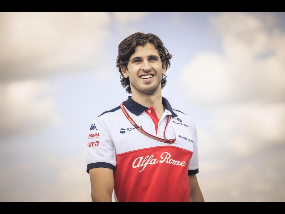 Formula Uno: il martinese Antonio Giovinazzi nuovo pilota Alfa Sauber