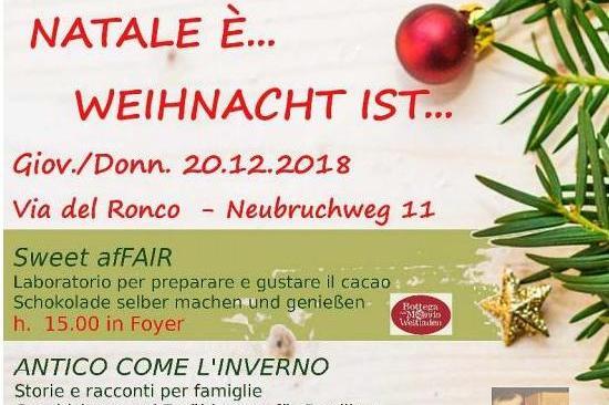 Natale E Festa.Natale E Oggi Festa Ad Europa Novacella Bolzano Alto