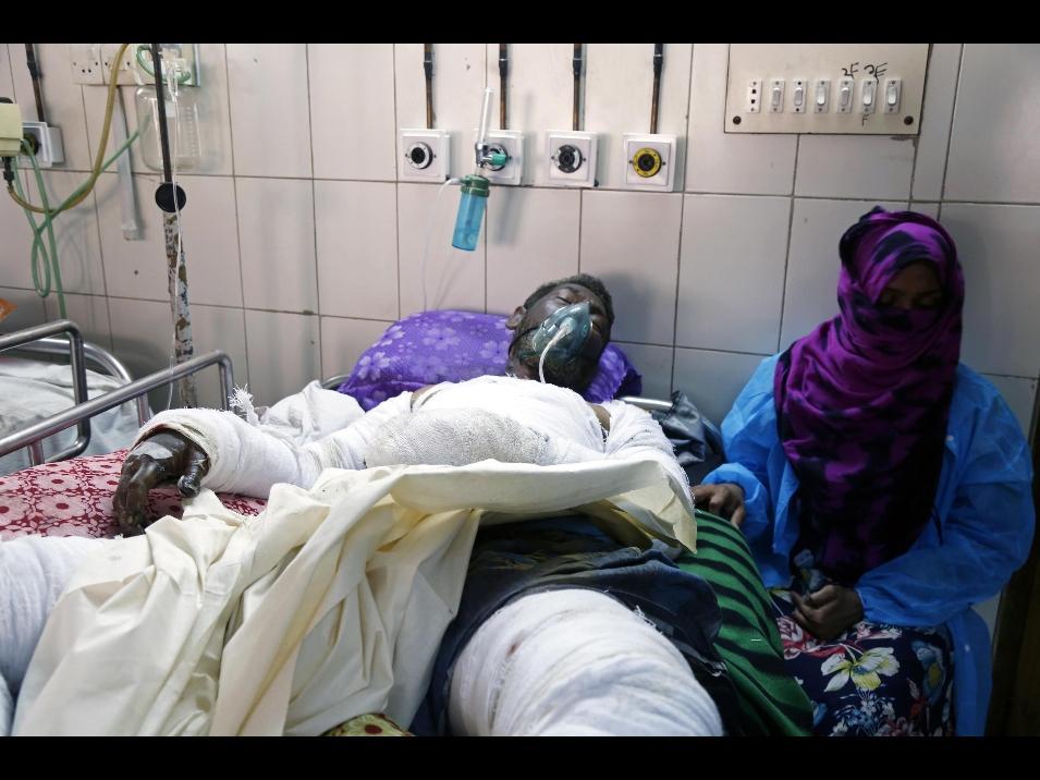 Bangladesh, maxi incendio a Dacca provoca almeno 56 i morti