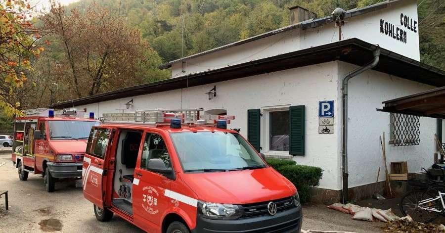 Maltempo, fuori servizio la funivia del Colle - Bolzano - Alto Adige