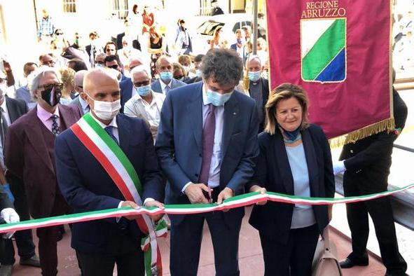 Lavori In Tempi Record Inaugurato Covid Hospital Pescara Salute E Benessere Alto Adige