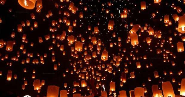 Merano palloncini luminosi al posto dei botti di for Bressanone capodanno