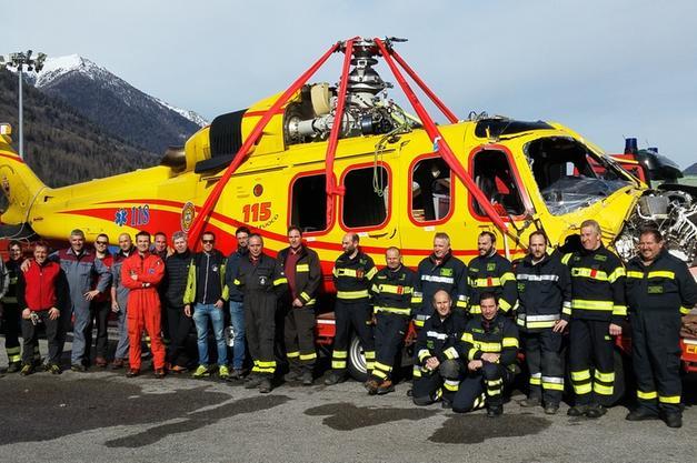 Elicottero 118 Precipitato Recuperato Da Geronimo Bolzano Alto