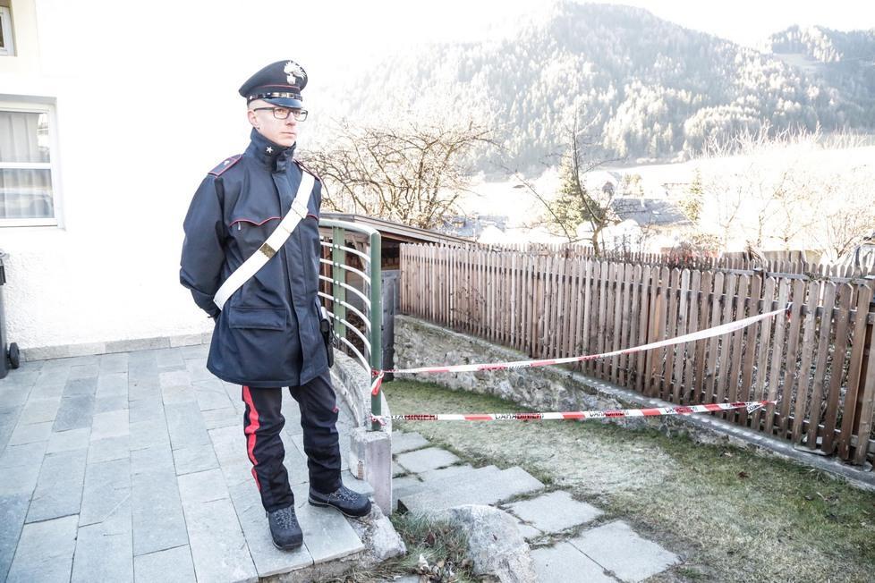 Delitto in pusteria setacciata la casa del disabile for Soggiorno carabinieri merano
