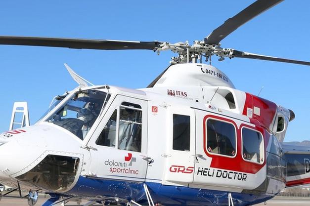 Elicottero Ortisei : Decolla heli doctor il servizio privato dell elisoccorso